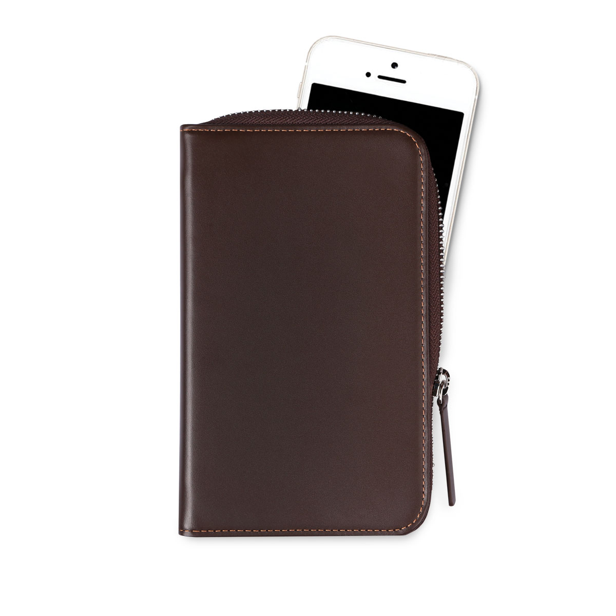 Daily Phone Pocket Plus Dark Brown