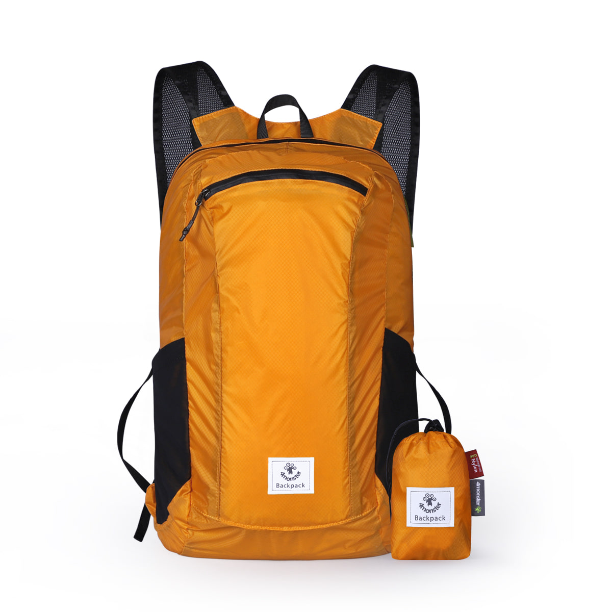 FOLDING BACKPACK 24L ORANGE