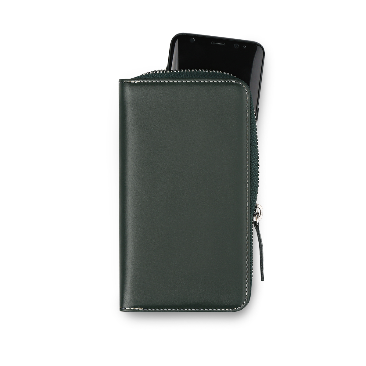 [에가든]Daily Phone Pocket S_Deep Green