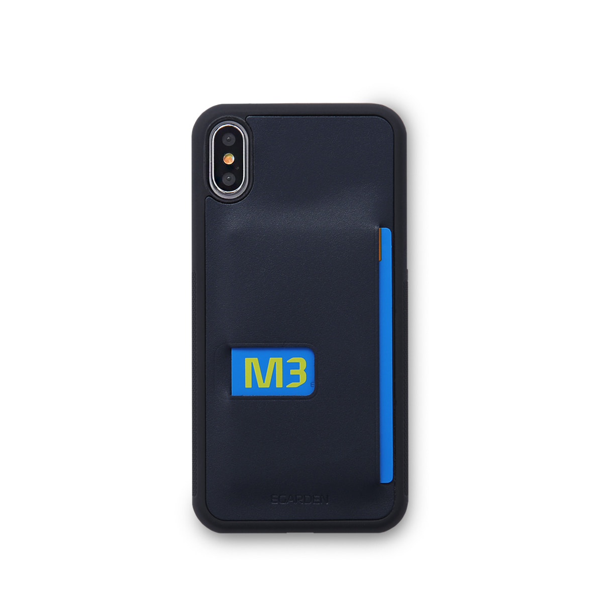 [에가든]iPhoneX Back Cover Case_Navy