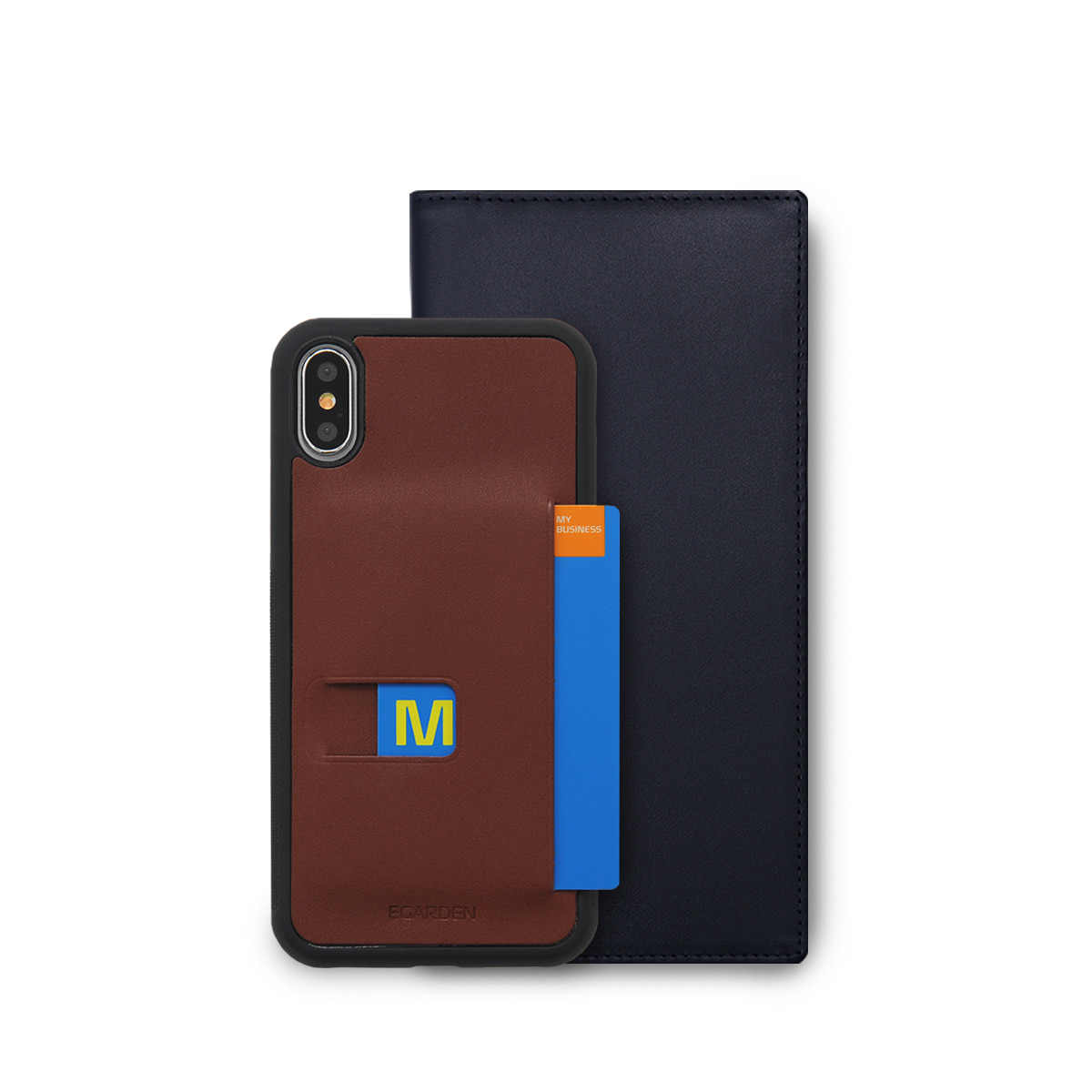 [SET]Flat Long+iPhoneX Case
