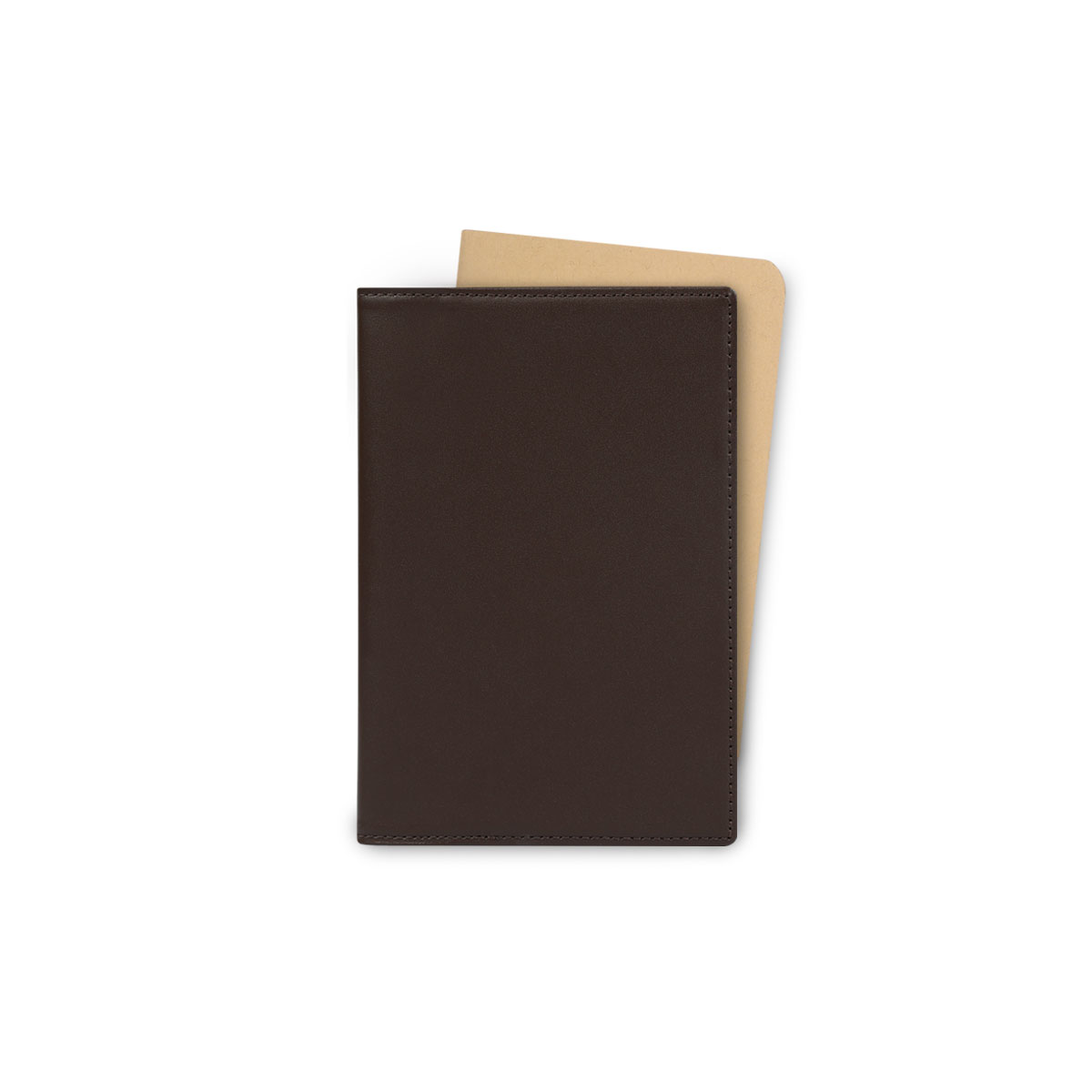 [에가든]Note & Travel Cover Case_Dark Brown