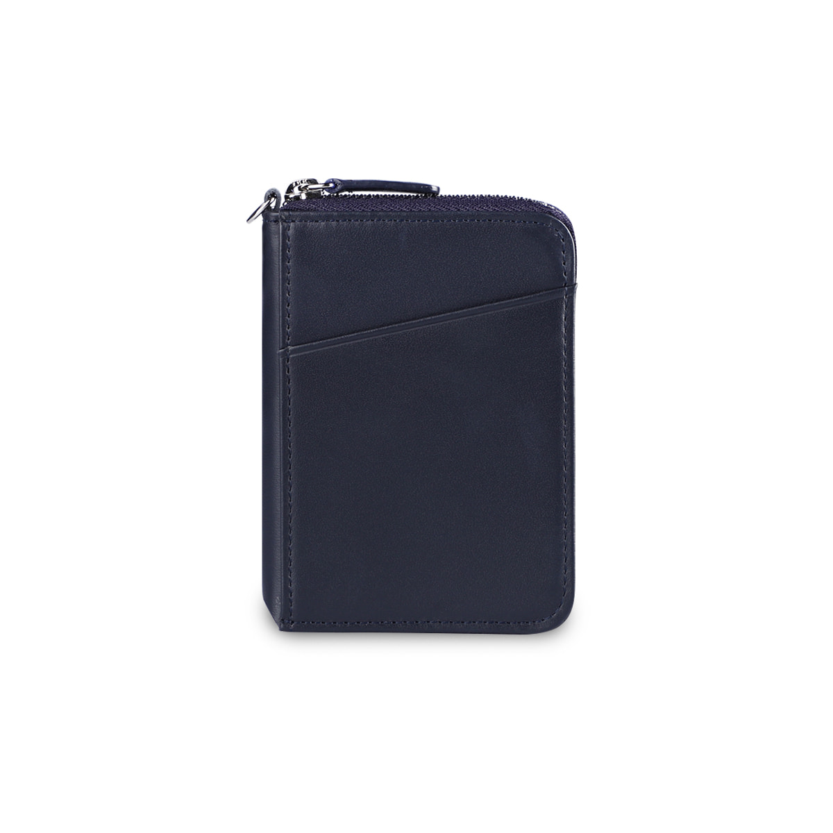 CITY ZIPPER WALLET_DARK NAVY