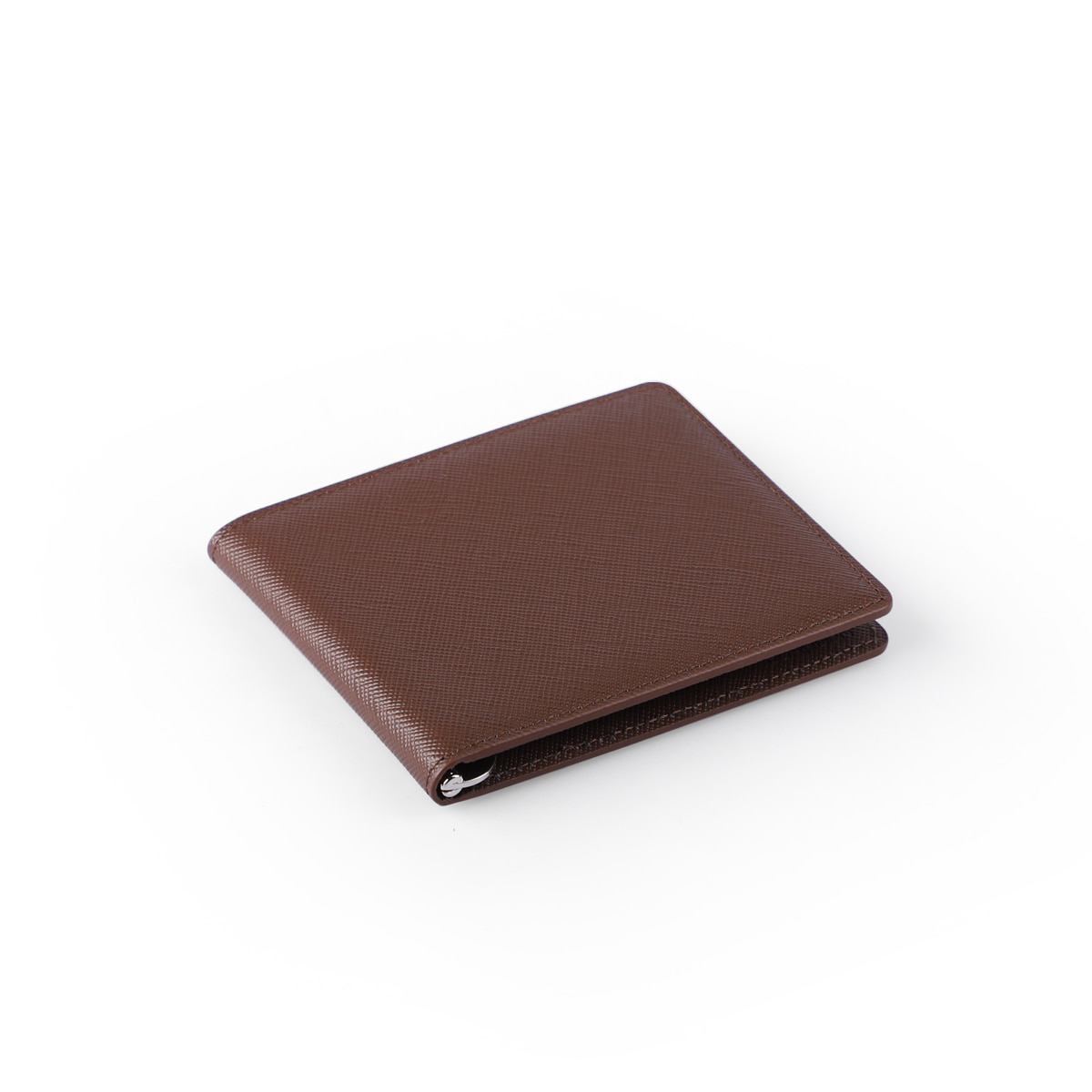[에가든]Money Clip Slim_Brown