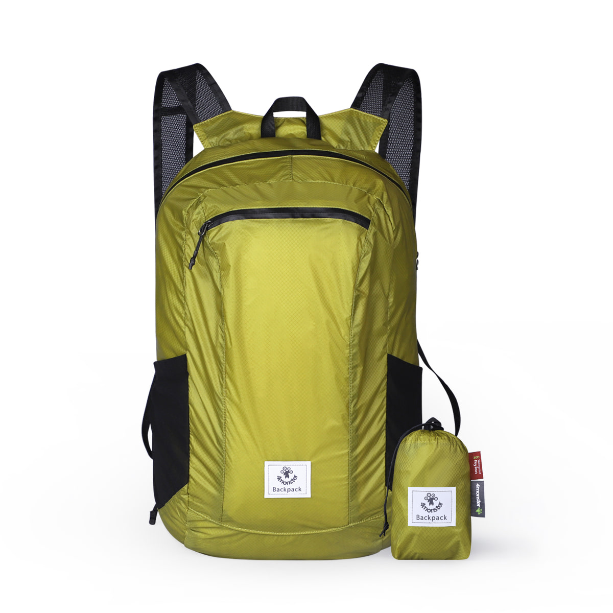 FOLDING BACKPACK 24L APPLE GREEN