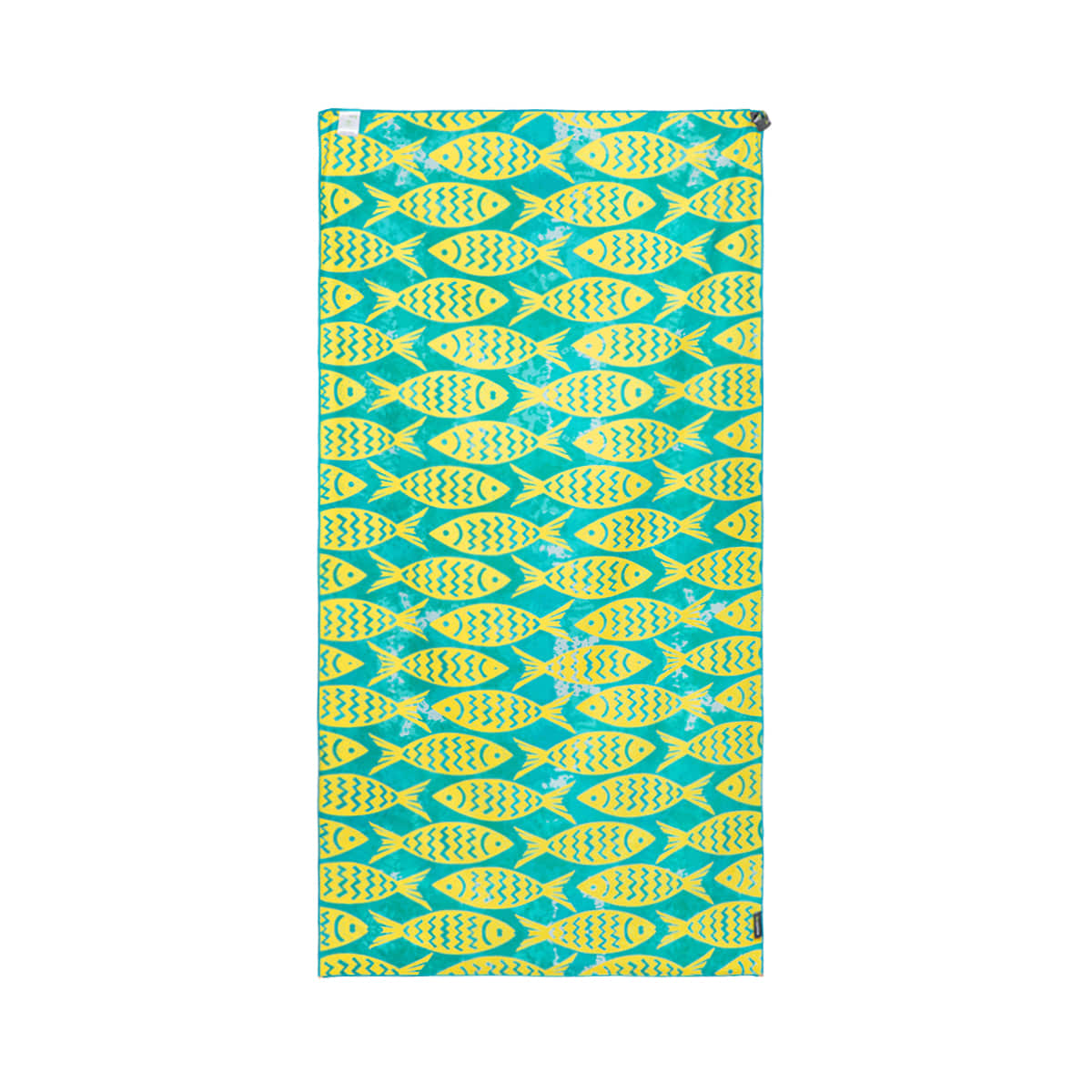 BEACH TOWEL_Yellow Green