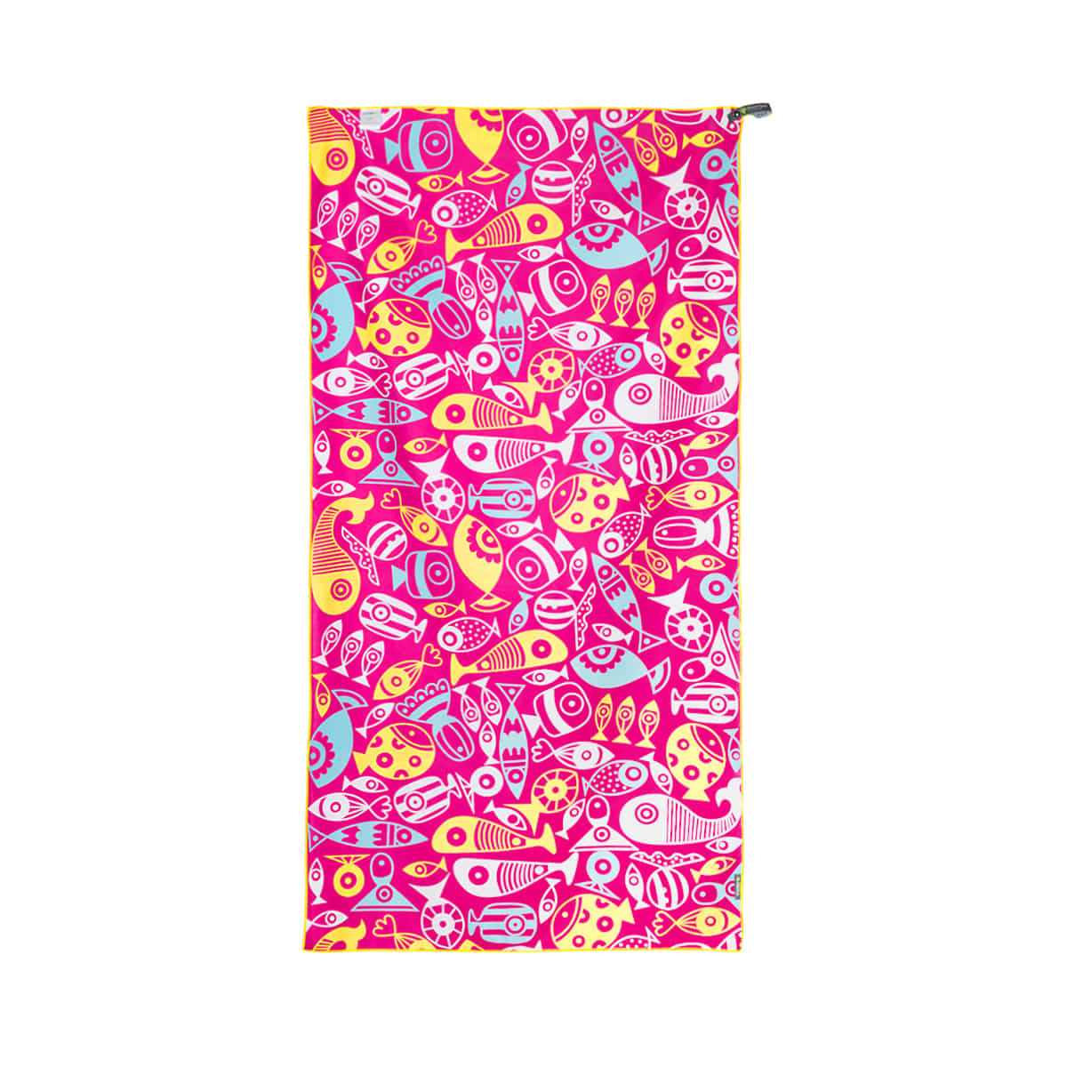 BEACH TOWEL_Lollipop Pink